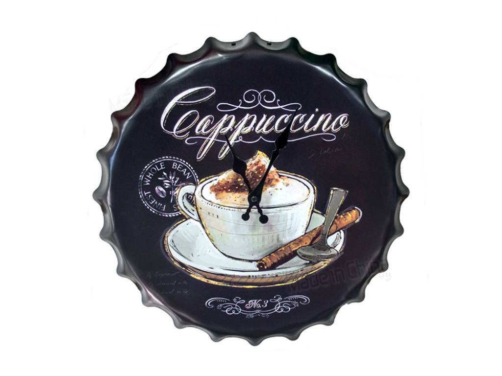 Reloj de pared Capuchino