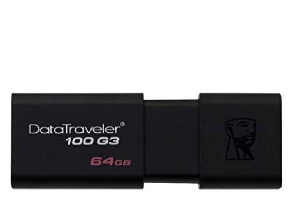 PENDRIVE KINGSTON 64GB DATA TRAVELER DT100  USB 3.1 3.0 2.0