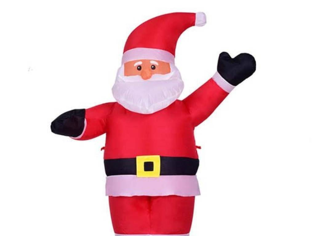 Papa Noel Inflable 2,4 M Decoración