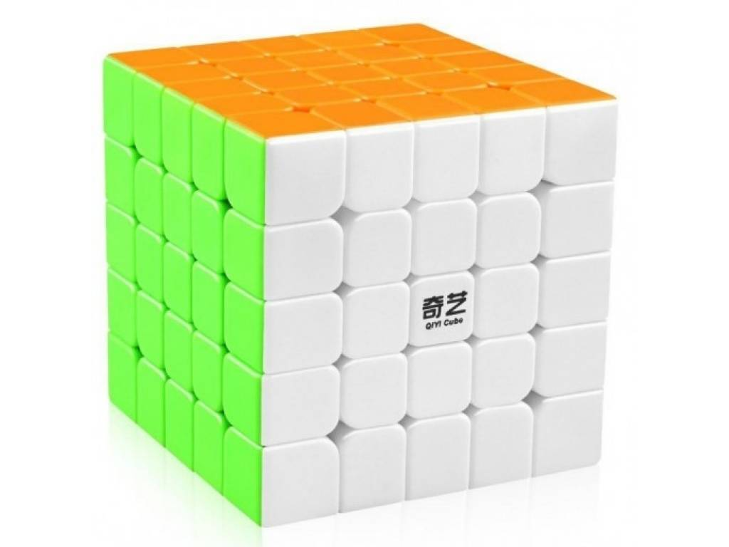 Cubo De Rubik Qiyi 5x5x5 Speed Rrcube Stickerless Puzzle